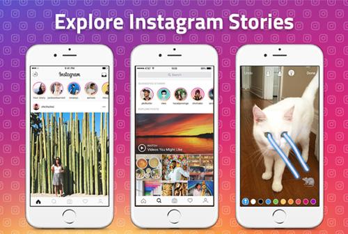 Instagram Stories Surpasses
