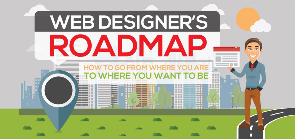 Web Designer's Roadmap: How to Go from Where You Are to Where You Want to Be