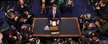 Mark Zuckerberg Senate Hearing