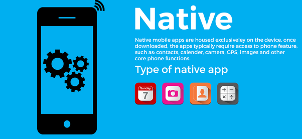 native mobile app