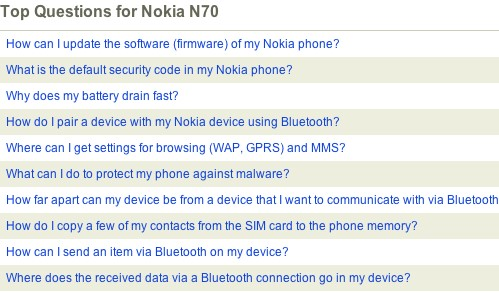 nokia n70 question